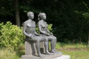 Klaus Kütemeier: Sitzendes Paar