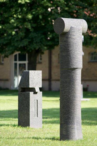 Harald Worreschk: Stoische Figur, (Foto: KUNST@SH/Jan Petersen, 2015)