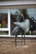 Walter Rössler: Zwei Flamingos