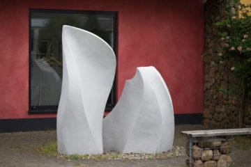 Lennard Kaufmann und Simon Hölscher: Olias-Haus-Skulptur, (Foto: KUNST@SH/Jan Petersen, 2017)