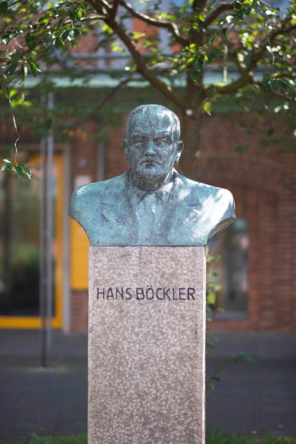 Georg Fugh: Büste Hans Böckler, (Foto: KUNST@SH/Jan Petersen, 2017)