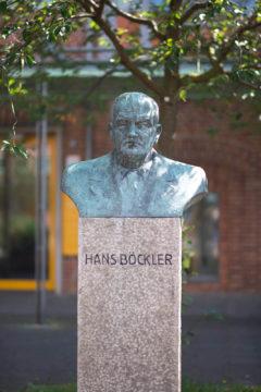 Georg Fuhg: Büste Hans Böckler, (Foto: KUNST@SH/Jan Petersen, 2017)