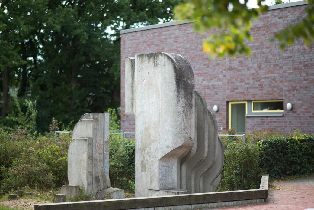 Gerhard Backschat: Skulptur, (Foto: KUNST@SH/Jan Petersen, 2017)