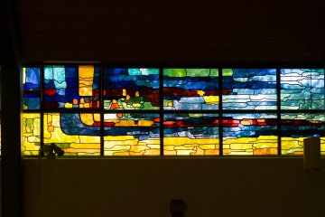 Siegfried Assmann: Kirchenfenster, (Foto: KUNST@SH/Jan Petersen, 2017)