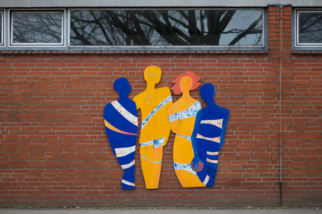 Ines Horch: Gemeinsam, (Foto: KUNST@SH/Jan Petersen, 2018)