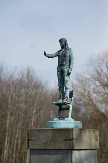 Volker Tiemann: Großes Stück über die rechte Hand, (Foto: KUNST@SH/Jan Petersen, 2018)