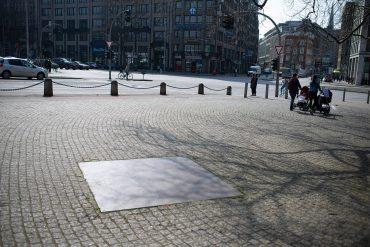 Franz Erhard Walther: Sieben Orte für Hamburg, (Foto: KUNST@SH/Jan Petersen, 2018)