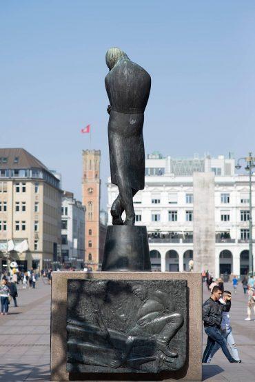 Waldemar Otto: Heine-Denkmal, (Foto: KUNST@SH/Jan Petersen, 2018)