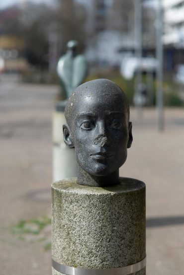 Klaus Kütemeier: Porträt G.H., (Foto: KUNST@SH/Jan Petersen, 2018)