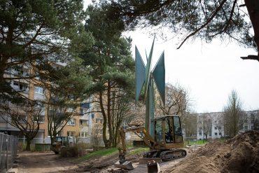 Robert Müller-Warnke: Windmühle, (Foto: KUNST@SH/Jan Petersen, 2018)
