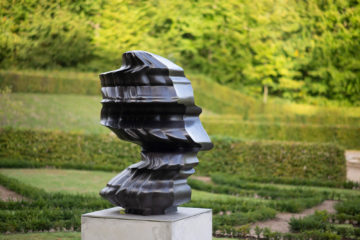 Tony Cragg: 3D Incident, (Foto: KUNST@SH/Jan Petersen, 2018)