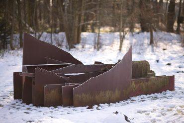 Uwe Appold: Landschaft, (Foto: KUNST@SH/Jan Petersen, 2018)
