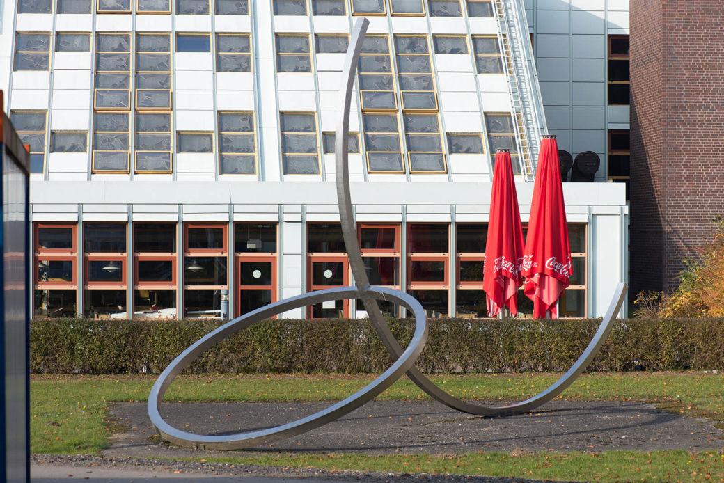 Alf Lechner: Kreis – Halbkreis – extern, (Foto: KUNST@SH/Jan Petersen)