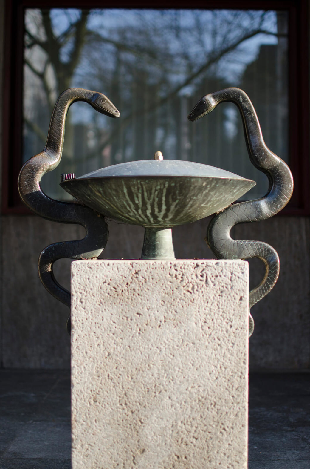 Alwin Blaue: Schlangenbrunnen, (Foto: KUNST@SH/Jan Petersen)