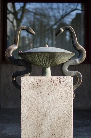alwin blaue schlangenbrunnen kunst sh schleswig holstein hamburg. Black Bedroom Furniture Sets. Home Design Ideas
