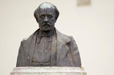 Nicolaus Bachmann: Friedrich-Hebbel-Denkmal, (Foto: KUNST@SH/Jan Petersen)