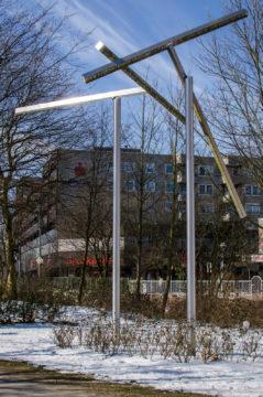 Bernd Wilhelm Blank: Brücken-Tor, (Foto: KUNST@SH/Jan Petersen)