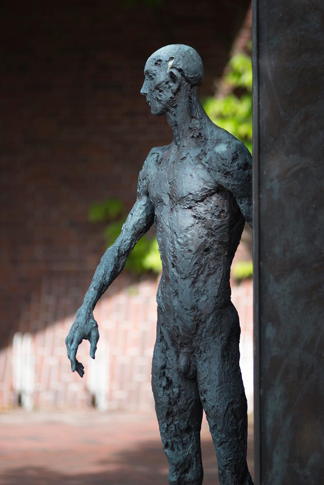 Doris Waschk-Balz: Nackter Mann, (Foto: KUNST@SH/Jan Petersen)