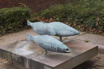 Egon Lissow: Fischbrunnen, (Foto: KUNST@SH/Jan Petersen, 2016)