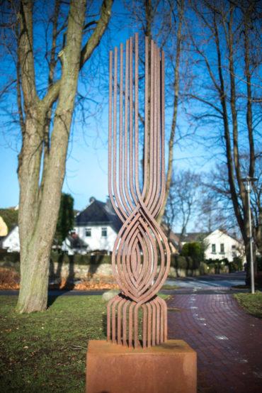Eisen-Windobjekt, (Foto: KUNST@SH/Jan Petersen)