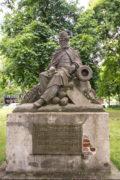 Engelbert Peiffer: Denkmal für Major Jungmann