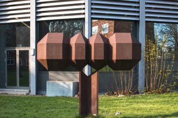 Georg Engst: Formen aus dem Aufbau der Kristalle, (Foto: KUNST@SH/Jan Petersen)