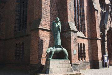 Ernst Barlach: Geistkämpfer, (Foto: KUNST@SH/Jan Petersen)