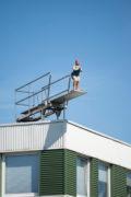 Firma Bock: Turmspringerin
