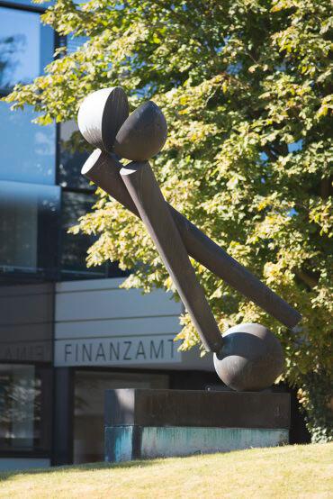 Fritz Koenig: Große Zwei, (Foto: KUNST@SH/Jan Petersen)