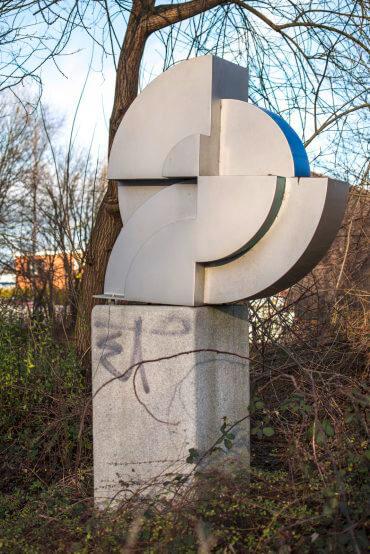 Günter Wiese: Wegzeichen, (Foto: KUNST@SH/Jan Petersen)