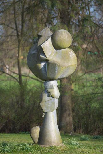 Hans Kock: Rose für Charly Rivel, (Foto: KUNST@SH/Jan Petersen)