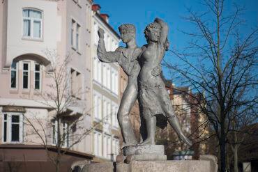 Hans Kock: Tanzpaar, (Foto: KUNST@SH/Jan Petersen)