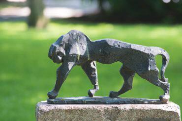 Hans Martin Ruwoldt: Panther, (Foto: KUNST@SH/Jan Petersen)
