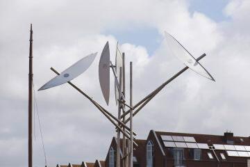 Hans-Michael Kissel: Kinetische Skulptur, (Foto: KUNST@SH/Jan Petersen, 2016)