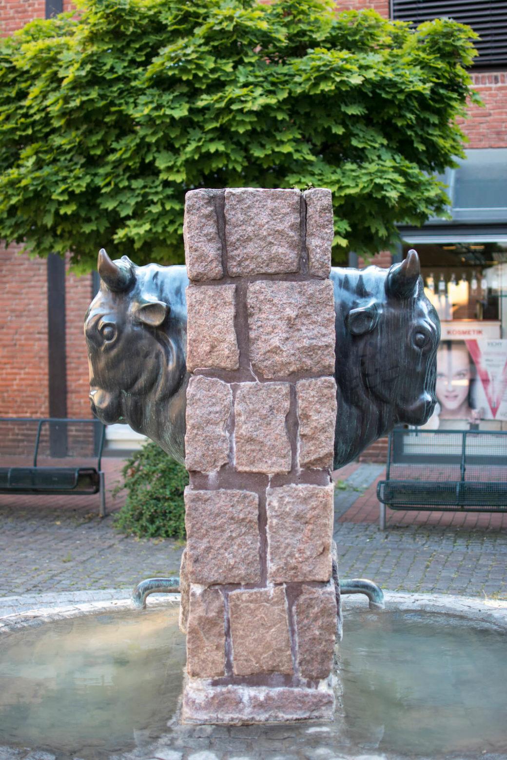 Hans Werner Könecke: Brunnen am Ochsenkopf, (Foto: KUNST@SH/Jan Petersen)