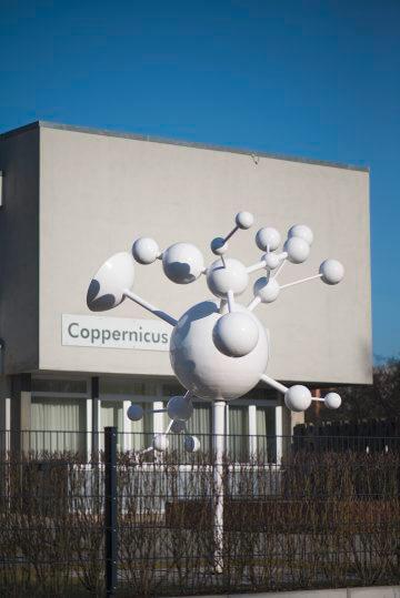 Harald Duwe: Das System des Coppernicus, (Foto: KUNST@SH/Jan Petersen, 2017)