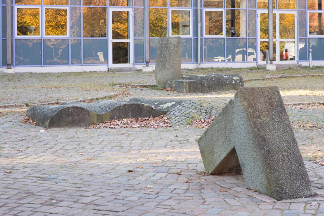 Harald Worreschk: Platzgestaltung, (Foto: KUNST@SH/Jan Petersen, 2016)