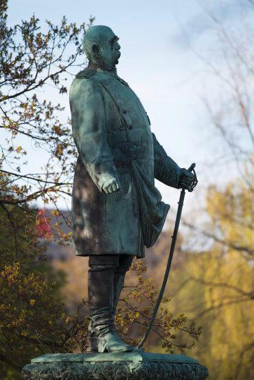 Harro Magnussen: Bismarck-Denkmal, (Foto: KUNST@SH/Jan Petersen, 2016)
