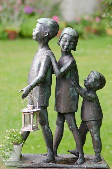 Ursula Hensel-Krüger: Spielende Kinder, (Foto: KUNST@SH/Jan Petersen)