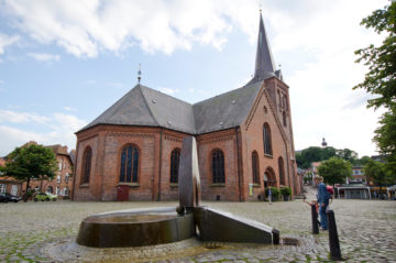 Jan-Olav Hinz: Wasserspiel Plön, (Foto: KUNST@SH/Jan Petersen)