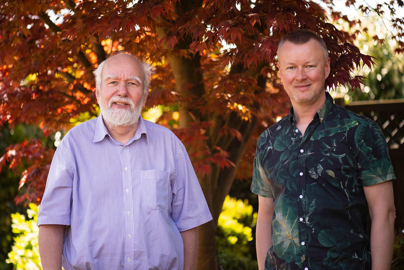 Helmut W. Schiffler und Jan Petersen, 2018