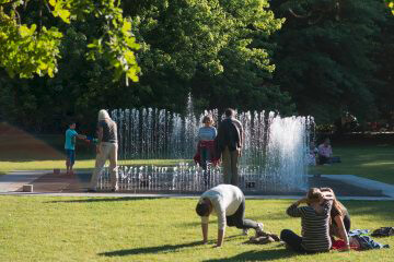 Jeppe Hein: Changing Invisibility, (Foto: KUNST@SH/Jan Petersen)
