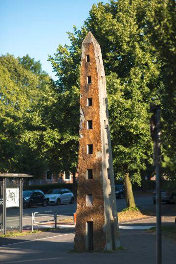 Jo Kley: Obelisk, (Foto: KUNST@SH/Jan Petersen)