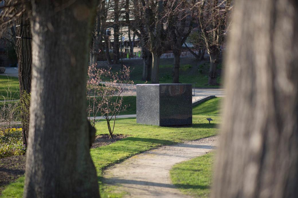 Karl Prantl: Stein zur Meditation, (Foto: KUNST@SH/Jan Petersen)