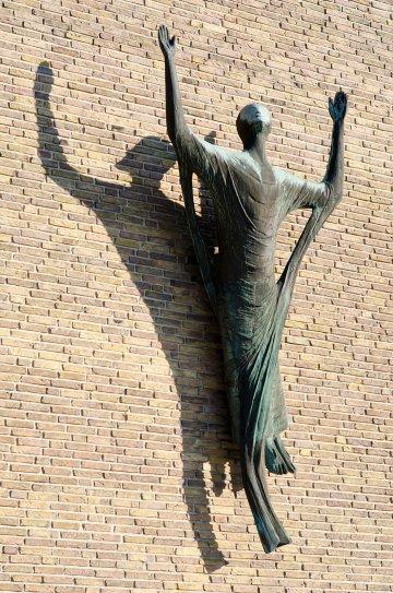 Karlheinz Goedtke: Auferstandener Christus, (Foto: KUNST@SH/Jan Petersen)