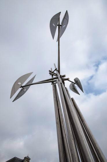 Hans-Michael Kissel: Kinetische Skulptur, (Foto: KUNST@SH/Jan Petersen)