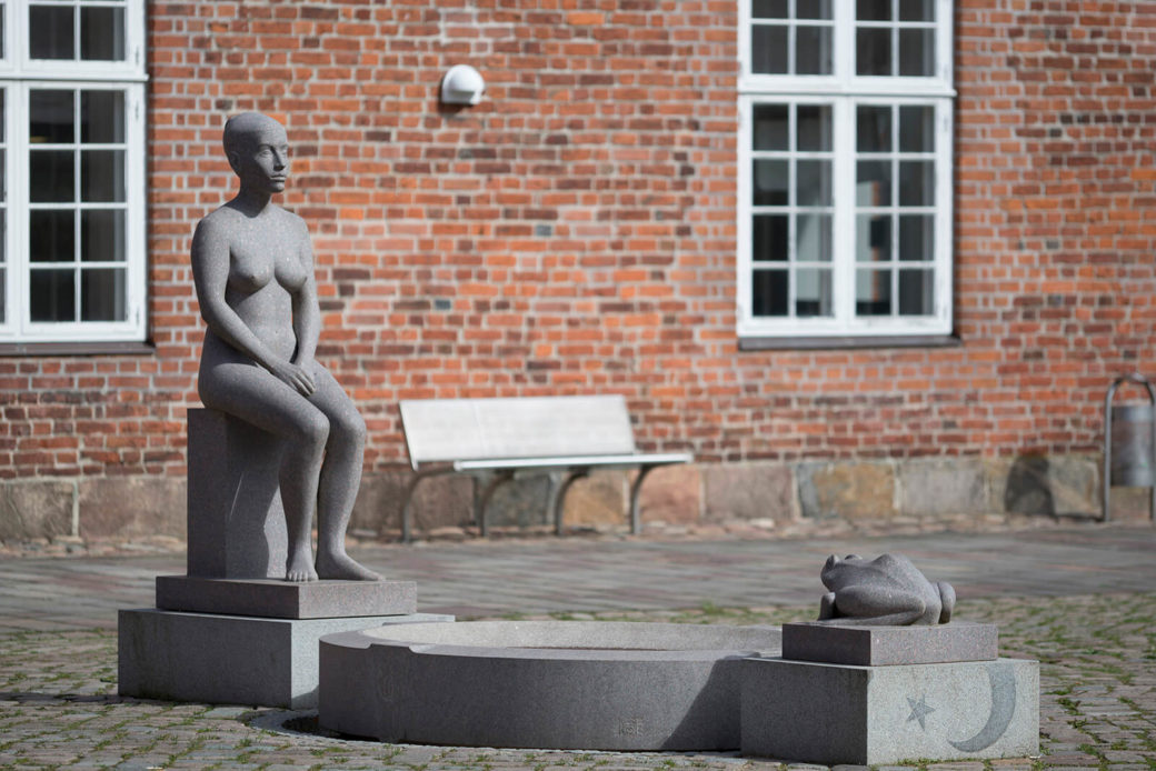 Klaus Kütemeier: Froschkönigbrunnen, (Foto: KUNST@SH/Jan Petersen)