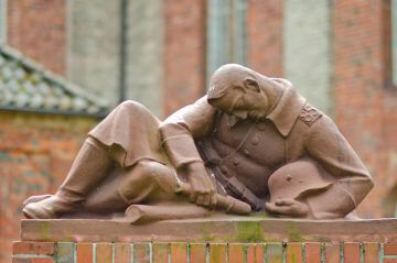 Richard Emil Kuöhl: Regimentsdenkmal Rendsburg, (Foto: KUNST@SH/Jan Petersen)