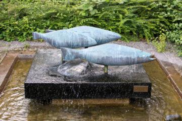 Egon Lissow: Fischbrunnen, (Foto: KUNST@SH/Jan Petersen)