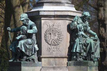 Denkmal für Uwe Jens Lornsen, (Foto: KUNST@SH/Jan Petersen, 2017)